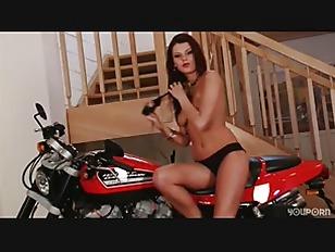 Picture Sexy Biker Chick