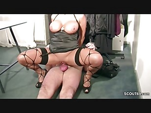 Picture German MILF With Monster Natural Tits Seduce...