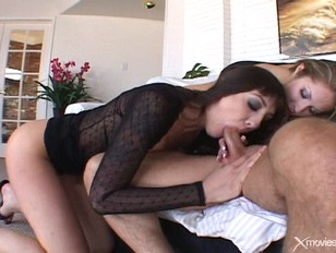 Picture Ass Eating Lesbo Licks While GF Sucks Cock