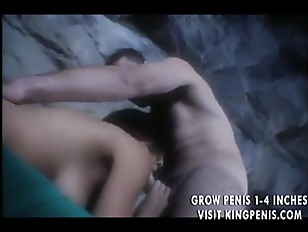 Picture Gorgeous Babe Ass Fucked In A Cave
