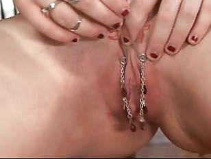 Pierced Pussy Brunette Gets Her Cunt Licked Well
