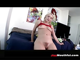 Picture Juicy Ass White Girl Swallows A Big Load P2