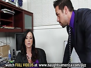 Picture Busty Kendra Lust Rides Boss Cock In Order To Kee...