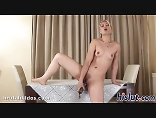 Saucy Blonde Enjoys Pleasuring Her Hirsute Cunt