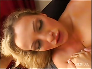 Picture Blonde Having Fun With A Serious Cock