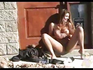 Picture Public Masturbation With A Dildo