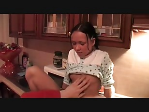 teen little sister fucks brother->