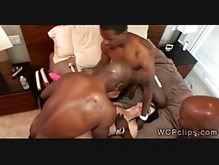 Picture 3 Black Thugs Pump A Horny Brunette MILFs As...