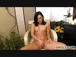 Picture Naughty Young Girl 18+ Plays With Her Pussy