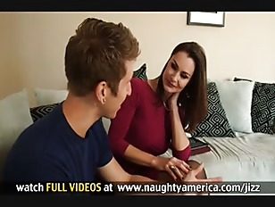 Hot brunette milf gets turned