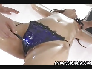 Picture Japanese Babe Fucked Various Dildos