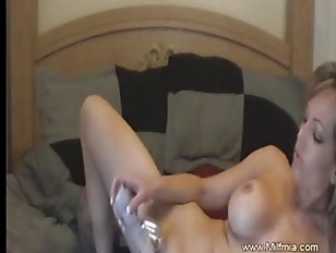 Picture MILF Is Home Alone And Likes It