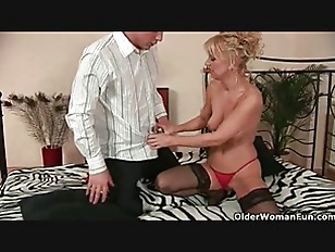57 year old merilyn is still hungry for cock