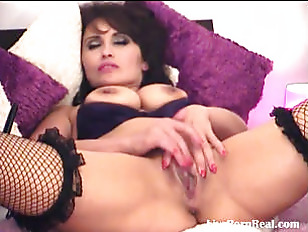 Picture Hot Brunette Dildoing Her Hot Pussy