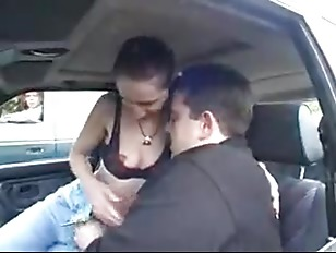 Picture Swinger German Couple Carsex Outdoor Part. 1