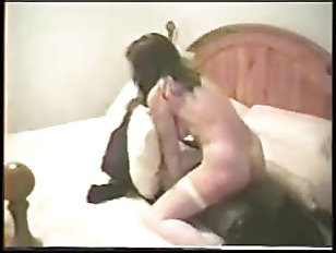 Mature white wife fucked by 2