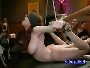 Picture Tied Naked And Slapped