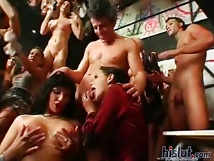 Picture Hottie In This Big Orgy Party