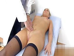 Picture Doctor Gives Hot Exam