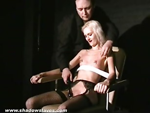 Picture Cruel Amateur Bdsm And Needle Tit Torture Of Tied...