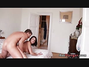 Boy Friend Stomping Her European Ass Hole