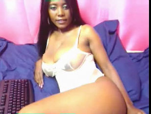 Ebony Webcam Babe Pat