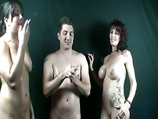 Picture Raquel Smoking With Hot Couple