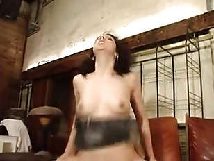 Picture French Waitress Milka Gets Anal And Facial