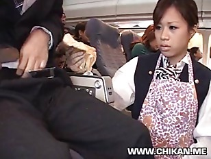 Picture Stewardess Handjob