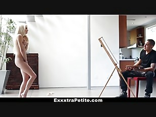 Picture ExxxtraSmall - Adult bitch Blonde Gets Trick...