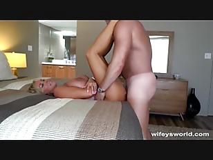 Picture Wifey Slurps Up Cum From Her Creampie
