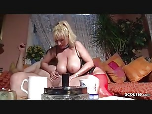 Picture German Monster Natural Tits MILF Seduce To F...