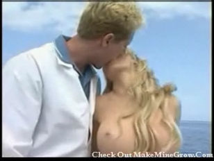 Picture Blonde With Big Tits On A Yacht