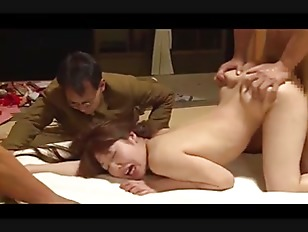 Japanese wife forced in front of husband by 4 guys (Full: shortina.com/qh33T) ▶7:39