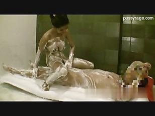 Picture Sexy Brunette Chick Nuru Massage