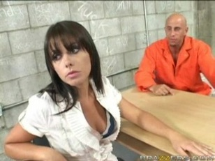 Penny Flame Fucks in Jail