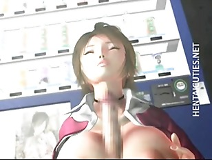 3d Hentai Bitch Gets Tits Fucked