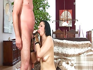 Picture Brunette Cougar Sucks And Fucks Her Neighbor