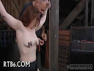Picture Painful Facial Torture For Babe