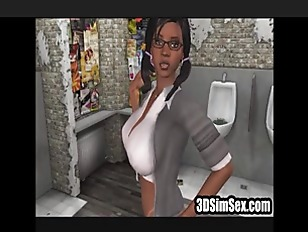 Picture 3D Girl Fucked In A Rest Room