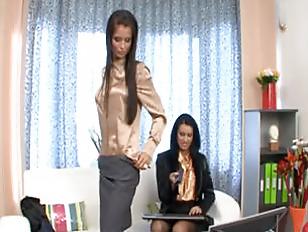 Picture Two Brunete Lesbians