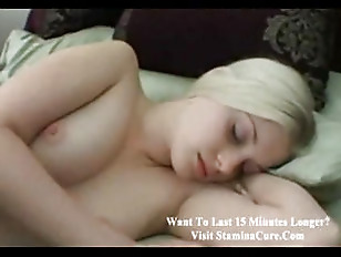 Sleeping Blonde Teen POV