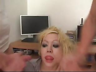 Picture Gorgeous Euro Blonde Enjoys Two