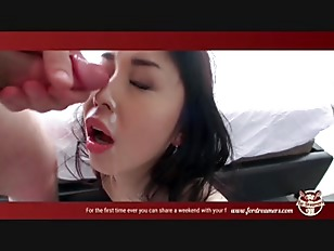 Picture Asian Slut Gives A Blowjob While She Is Play...