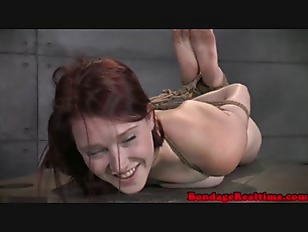 Picture Tied Up Bdsm Lover Ashley Lane Caned