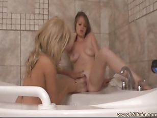 Picture MILF And Girlfriend Lesbo Play