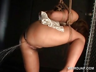 Picture Huge Titted Asian Sex Slave In Ropes Gets Cu...