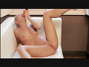 Picture Red Sexy Toy In Her Glamorous Snatch
