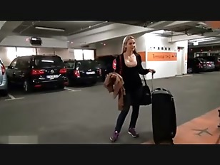 A quick fuck before her flight
