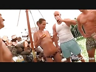 Picture German Camping Party Amateur
